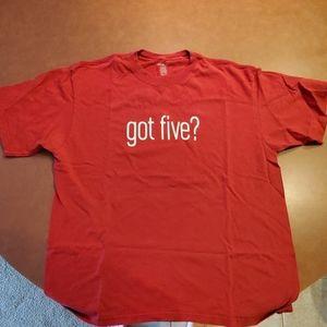 Reebok 49ers Got Five? shirt